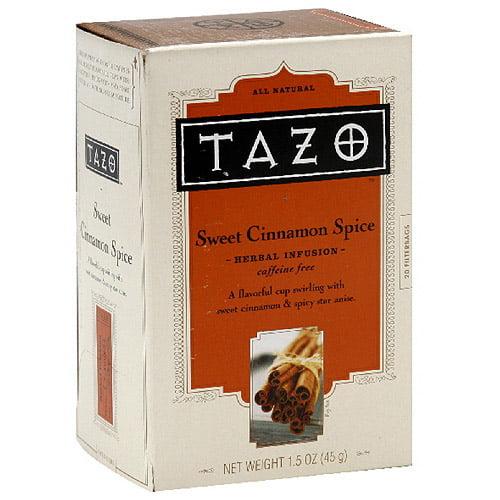 Tazo Sweet Cinnamon Spice Tea, 20ct (Pack of 6)