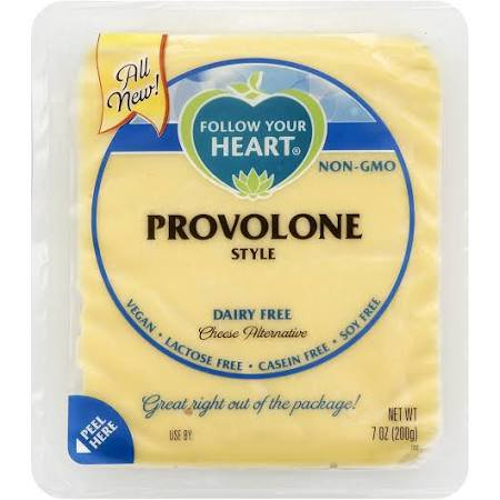 Follow Your Heart Dairy Free Provolone Slices Cheese Alternative 7 ounces Pack of (Best Non Dairy Cheese)
