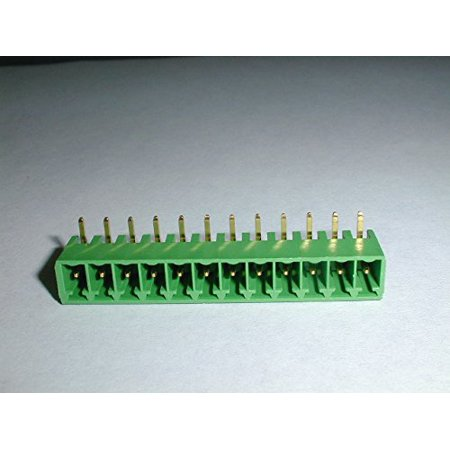 Phoenix Contact Terminal Header - Phoenix Contact 1847330 MC1.5/12-G-3.81-AU 12pos Header with gold plated pins - 1847330