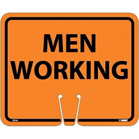 CS10 National Marker Safety Cone Men Working Sign