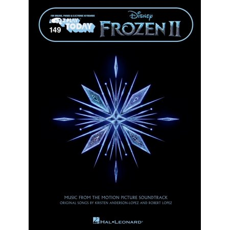 Frozen 2 - E-Z Play Today Songbook Featuring Oversized Notation and Lyrics: Music from the Motion Picture Soundtrack E-Z Play Today Volume 149 (Paperback) Play Piano Today Songbook