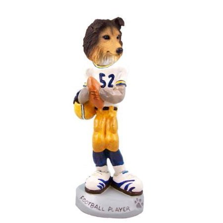 - NO.DOOG20A34 Sheltie Sable Football Player Doogie Collectable Figurine