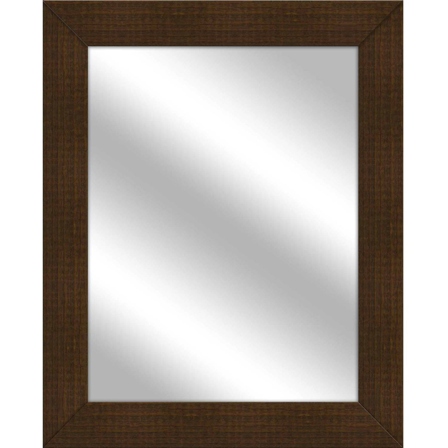 Vanity Mirror, Natural Wood, 25.5x31.5 by PTM Images