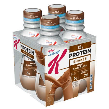 (3 Pack) Kellogg's Special K Protein Shake Milk Chocolate 40 FlOz 4 (Best Homemade Protein Shakes For Building Muscle)