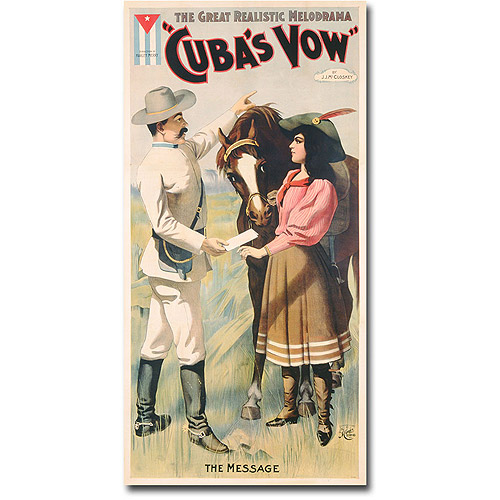 "Trademark Art ""Cuban Vow, 1897"" Canvas Wall Art"