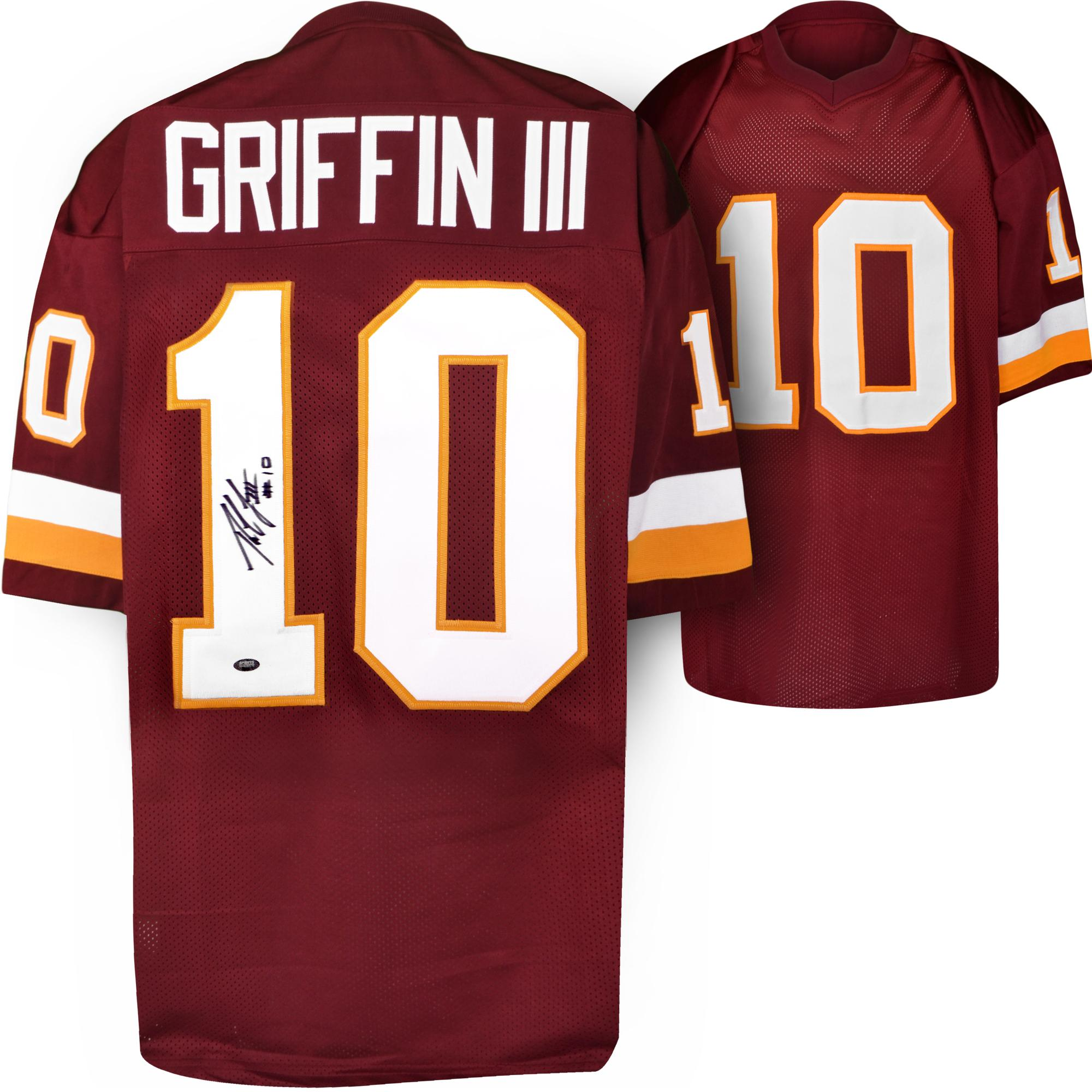 Robert Griffin III Autographed Jersey - SM Holo - Custom Prostyle