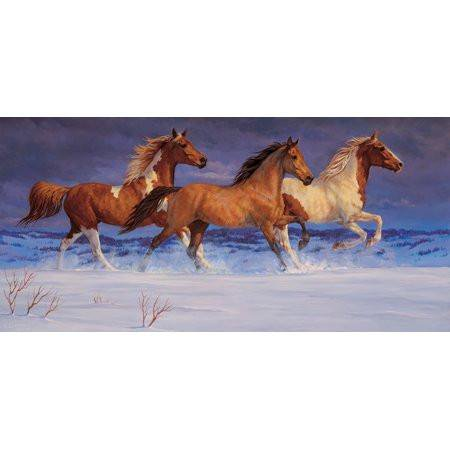 Chris Cummings Galloping Free Jigsaw Puzzle 1000Pc