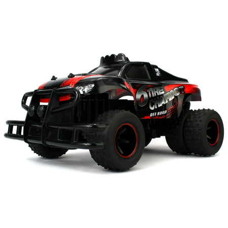 - 6 Tire Chariot RC High Performance Truggy 2.4 GHz Control System 1:10 Scale RTR