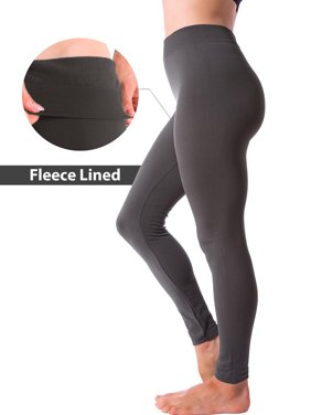 172622395a9df Product Image Winter Warm Fleece Lined Thick Brushed Full Length Leggings  Thights Pants
