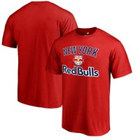 New York Red Bulls Fanatics Branded Victory Arch T-Shirt - Red