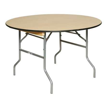 Round Table w Birch Plywood Top (36 in. Dia. x 30 in.