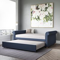 DHP Sophia Upholstered Twin Daybed and Trundle, Multiple Colors
