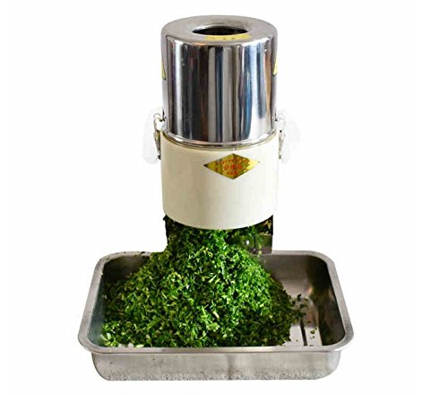 220V 220W 100kg h Commercial Cutting Machine Large Capacity Electric Vegetable Grinder Mincer Food Slicer Herb... by
