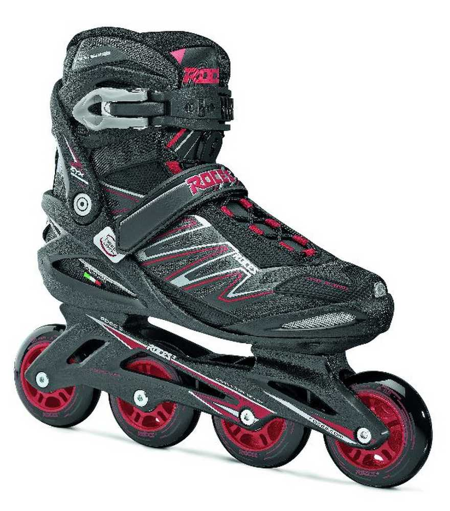 Roces Mens ZYX M Fitness Inline Skates Rollerblade ART Black Red 400805 by Roces
