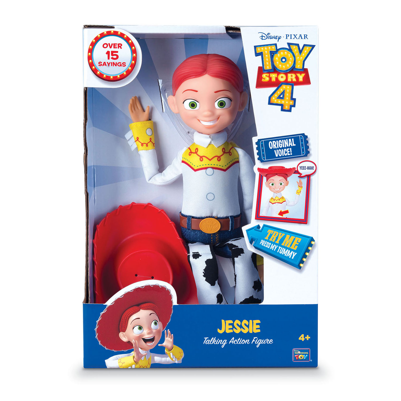 Buzz Lightyear Jessie Cowgirl TALKING action figure Dolls by Disney Toy Story Woody