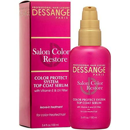 Dessange Salon Color Restore Color Protect System Top Coat Serum, 3.4 Fluid Ounce (Restorative System)
