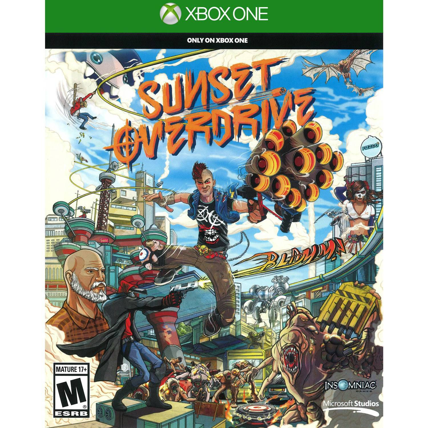 Microsoft Sunset Overdrive (Xbox One) - Pre-Owned