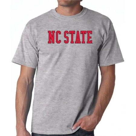 Nc State Wolfpack Merchandise - J2 Sport NC State Wolfpack NCAA Block Unisex Grey T-shirt
