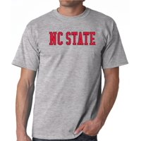 J2 Sport NC State Wolfpack NCAA Block Unisex Grey T-shirt