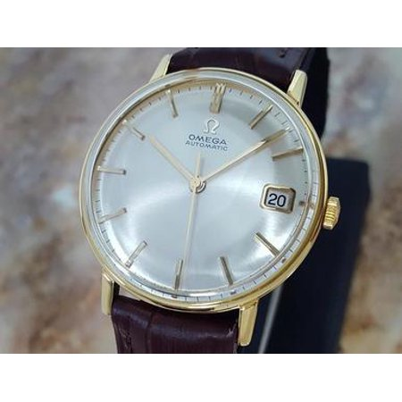 Omega Calibre 562 Rare Swiss Made Vintage Automatic Gold Plate Watch c 1960 (New Vintage Swiss Watch)