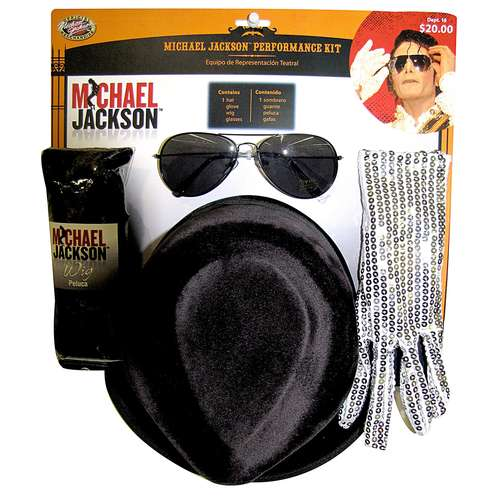 Michael Jackson Adult Halloween Costume Kit - One Size