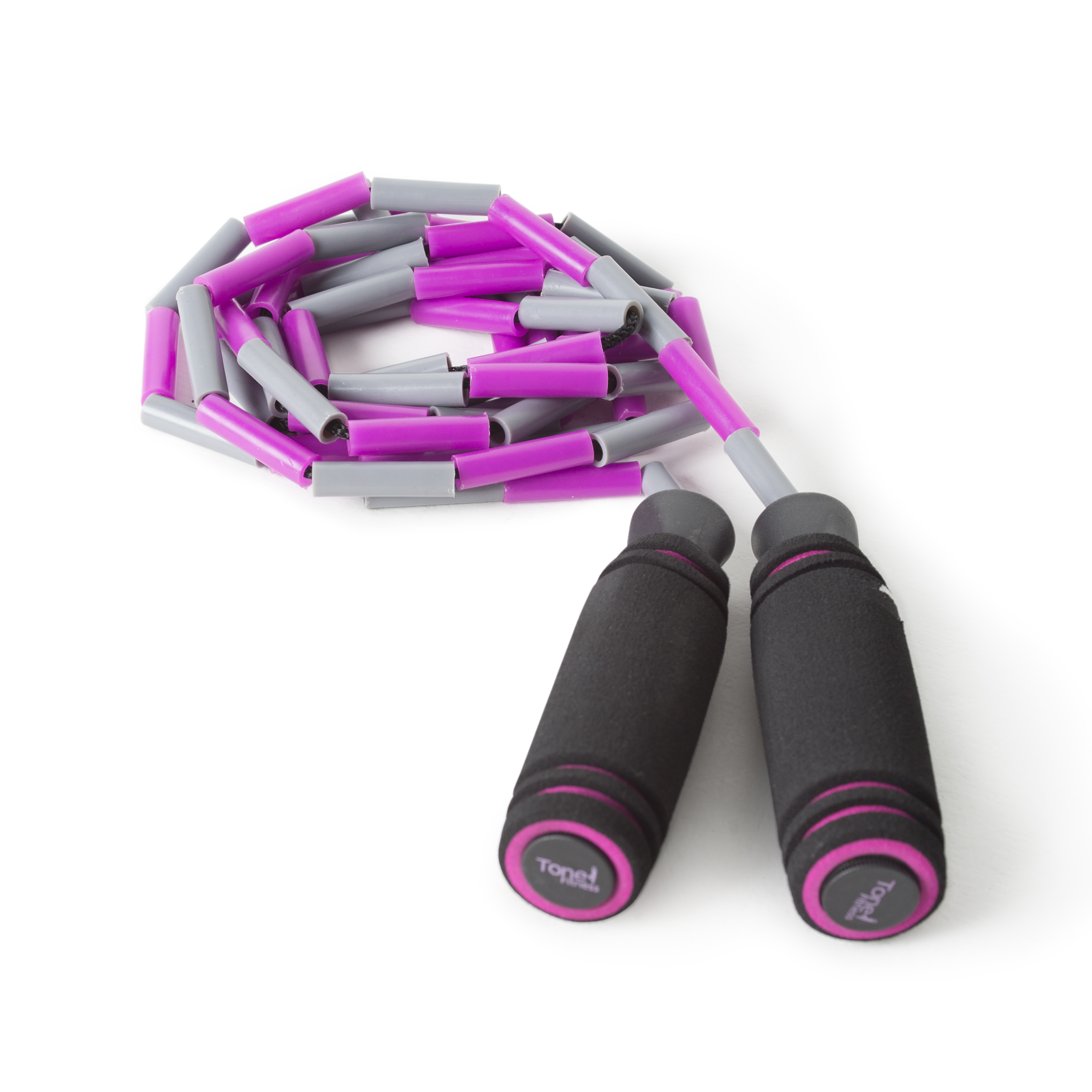 Tone Fitness Adjustable Beaded Jump Rope