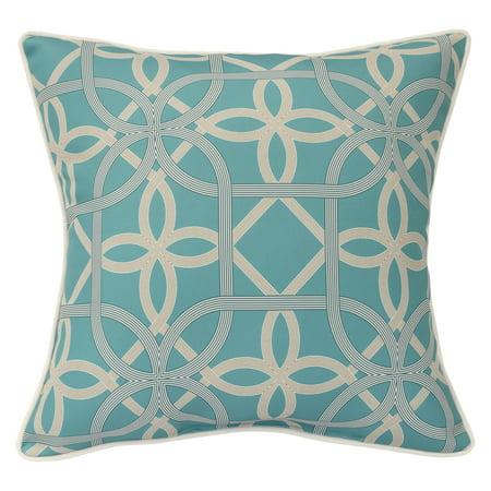 Aqua Boudoir Pillow - CHF Keene Outdoor Decorative Pillow 18