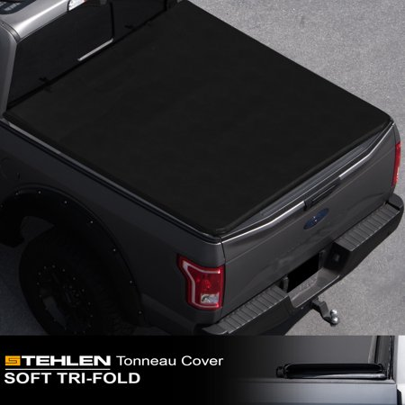 Stehlen 714937189508 Soft Tri-Fold Style Truck Bed Tonneau Cover For 16-18 Toyota Tacoma Access ( Extended ) / Double ( Crew ) Cab 5 Feet ( 60