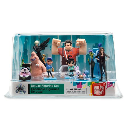Disney Ralph Breaks the Internet Deluxe Figure Play Set Cake Topper - Ralphs Halloween Cakes