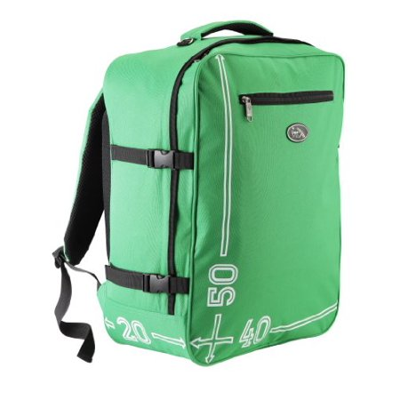 Cabin Max Barcelona 50 X 40 X 20 Cm Hand Luggage Backpack  Green   Apparel