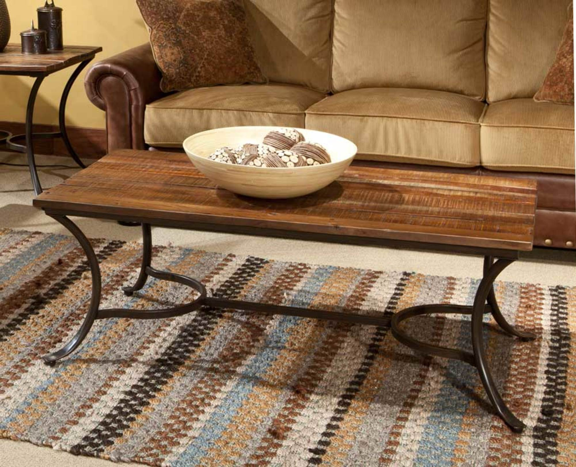 Emerald Home Innsbruck Rectangle Cocktail Table Medium Brown T4720 by Emerald Home Furnishings, LLC
