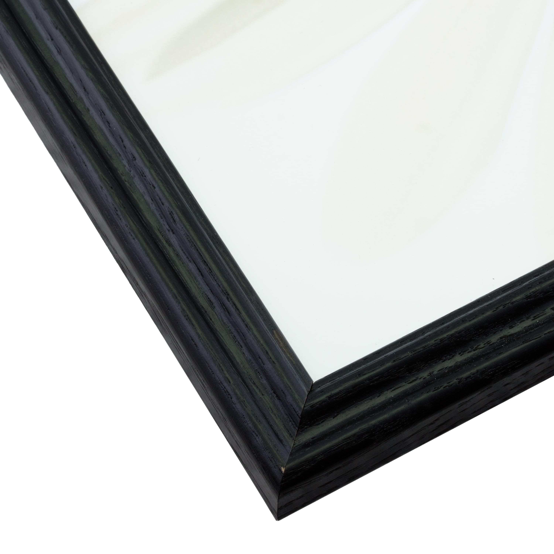200ASHBK2228 Wiltshire 200 Craig Frames .75 Wide 22x28 Inch Black Solid Wood Picture Frame