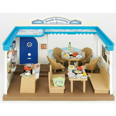 International Playthings Calico Critters Seaside (Calico Critters Burger Cafe Toys R Us)