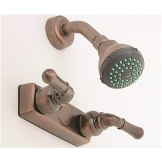 AMER BRASS OB54OB 4 inch Bronze Shower Valve Kit