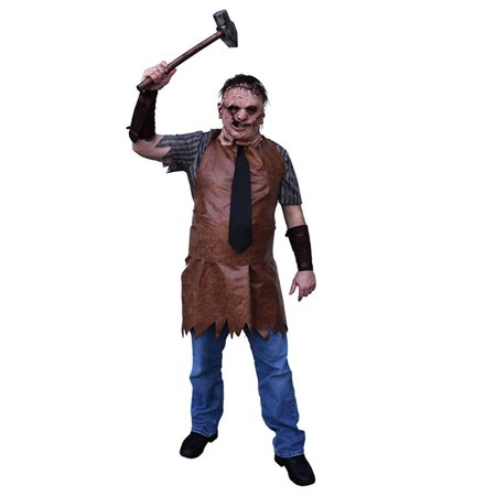 Texas Chainsaw Massacre Remake Leatherface Adult Costume