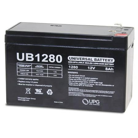 Rechargeable Backup Battery (12VOLT 8AMP HOUR RECHARGEABLE SEALED BACKUP ALARM TOYS LIGHTS 12V 8AH)