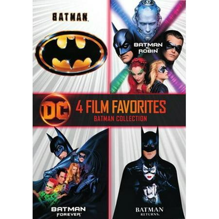 Batman: The Motion Picture Anthology 1989-1997 (DVD)