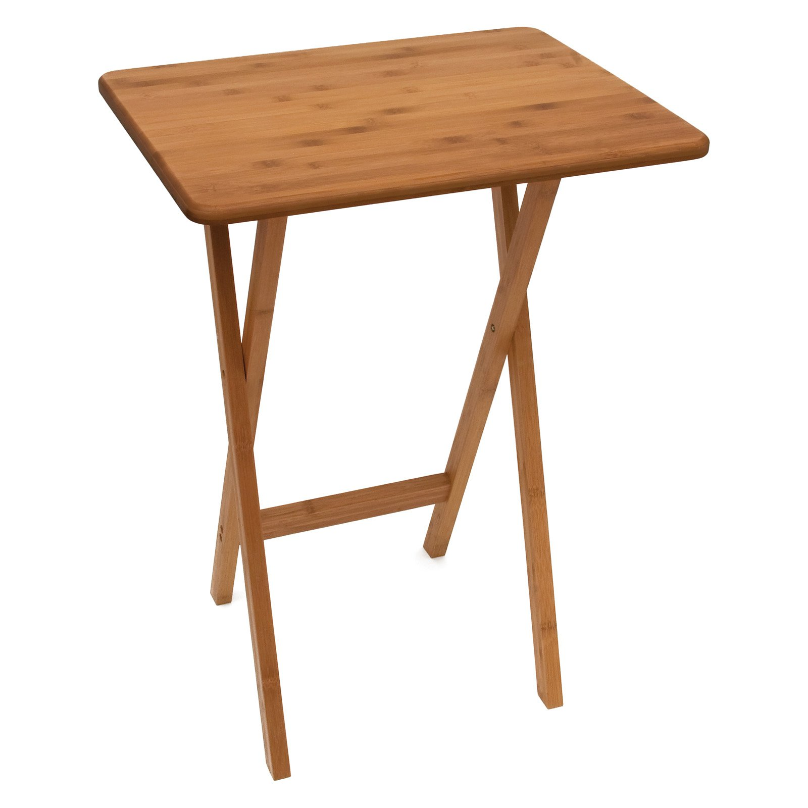 Lipper Bamboo Snack Table
