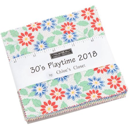 30's Playtime 2018 Moda Charm Pack by Chloe's Closet; 42 - 5