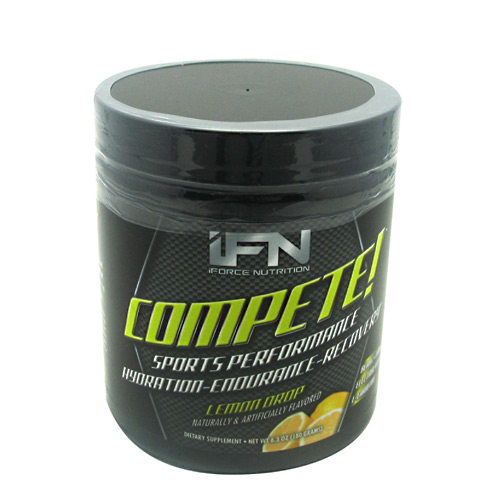 iForce Nutrition Compete Lemon Drop 30/srv