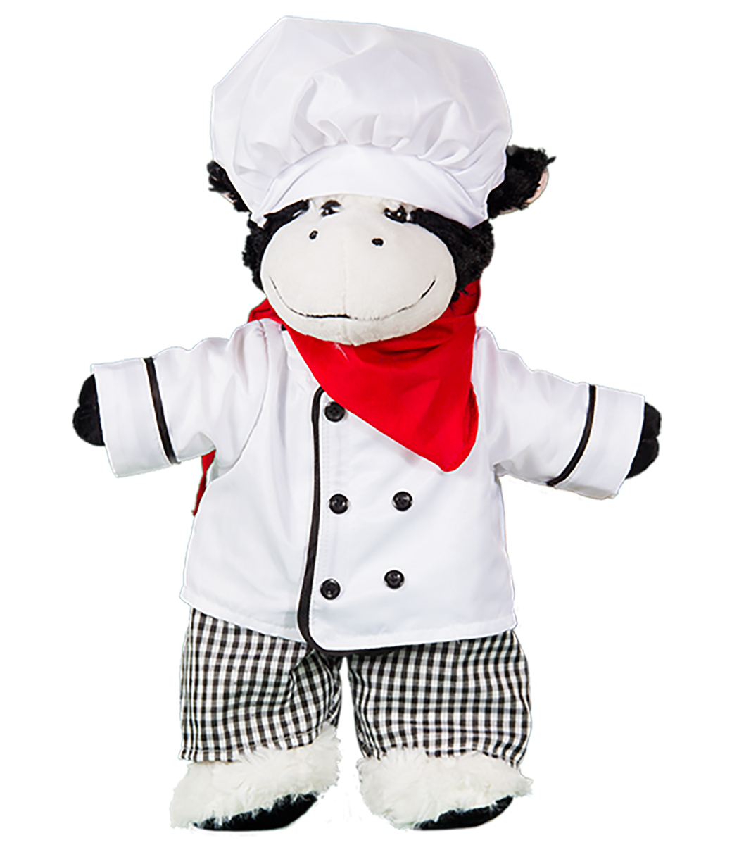 """Chef Outfit Teddy Bear Clothes Fits Most 14/""""-18/"""" Build-a-bear and Make Your Own"""