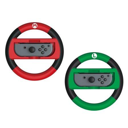 HORI Official Nintendo Switch Mario Kart 8 Deluxe Racing Wheel - Mario &
