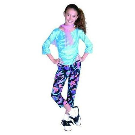 Large Child 50s Peddle Pusher Girl Costume