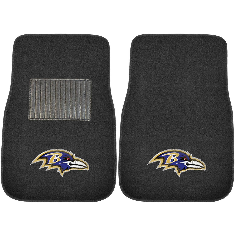 NFL Baltimore Ravens Embroidered Car Mats