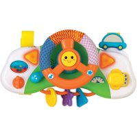 Baby Driver Stroller/Car Seat Attachable Activity Steering Wheel