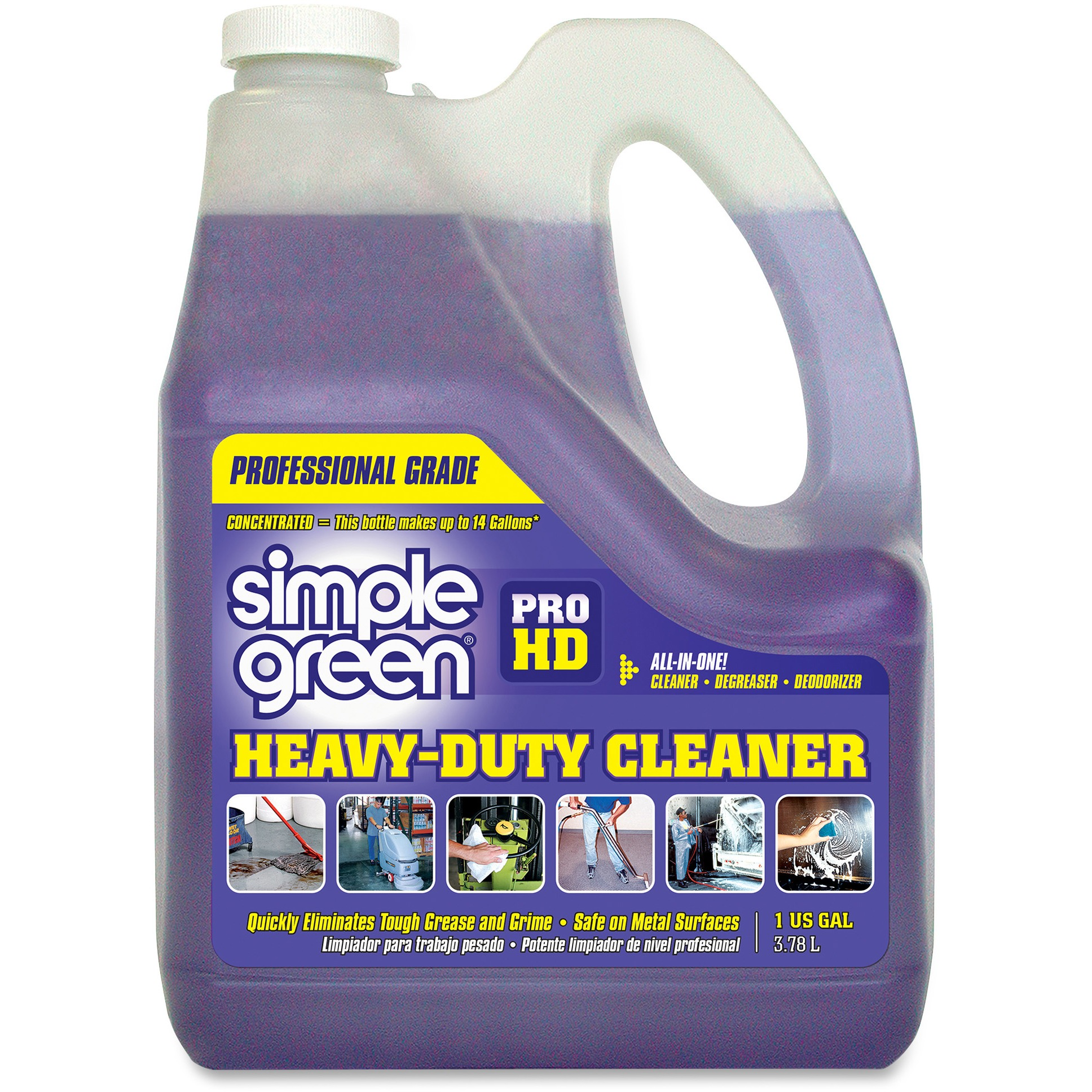 Simple Green Pro HD All-In-One Heavy-Duty Cleaner, 128 Oz