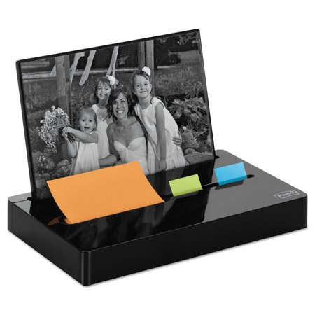 Post-it® Pop-up Note and Flag Dispenser, Photo Frame, Black