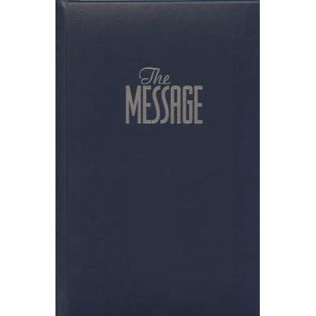 The Message Full Size (Hardcover, Navy) : The Bible in Contemporary Language](Bibles In Bulk)