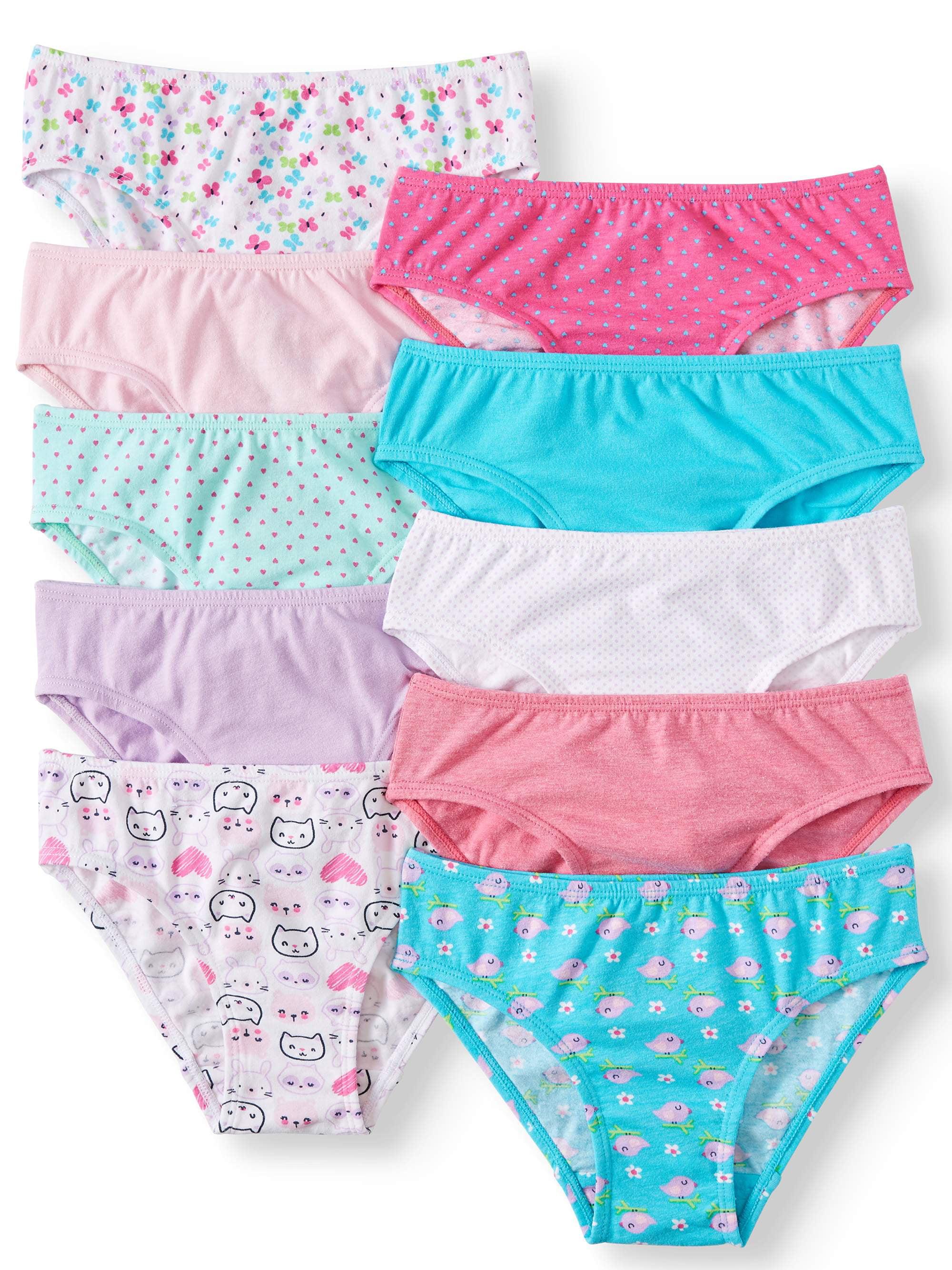 Fashion Cute Baby Girls Soft Cotton Underwear Panties Kids Underpants Cloth neQP