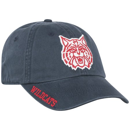 - Men's Top of the World Navy Arizona Wildcats Team Color Washed Adjustable Hat - No Size